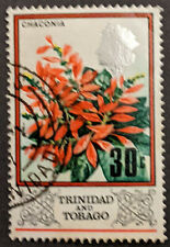 Stamp Trinidad and Tobago 1969 30c Flowers Chaconia Used
