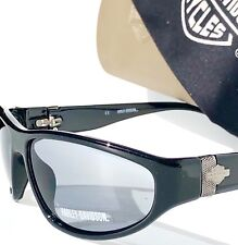 bbe860a044a NEW  Harley-Davidson HD881 in Black frame with HD logo with Grey lens  Sunglass