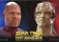 Star Trek DS9 Heroes & Villains Promo Card P1
