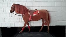 VINTAGE HORSE STEHA LIEHA FLOCKED WEST GERMANY TACK BRIDLE SADDLE