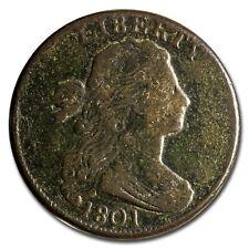 1801 Large Cent 1/000 Vg - Sku#214327