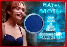 BATES MOTEL (Season Two) - OLIVIA COOKE as Emma Decody - Costume Card - COC1