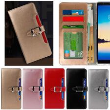 Buckle Wallet Case for LG G7 / LG V50 / LG V30 / LG Q6 / Q6