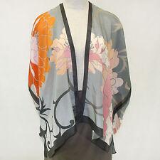 NEW NWT Cocoon House Wearable Art Nuance 100% Silk Kimono Top Large/XL (1X, 2X)