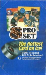 1990-91 PROSET Pro Set Hockey Factory Sealed Box NHL HOF The Cup Hologram?