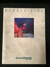 Vintage U.S. Divers 1995 catalog. Near mint condition.