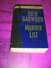 Murder List - Julie Garwood - Paperback Acceptable Softcover PB