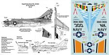 SUPERSCALE DECALS 1/48 A-7E Corsair II VA-97 Warhawks Operation Eagle Claw (USN)