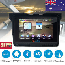"5.0"" 8GB GPS Waterproof Motorcycle Car Bike Navigation Navigator BT SAT AU Maps"