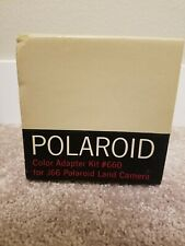 Polaroid Color Adapter Kit #660 For J66 Polaroid Land Camera