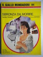 Sbronza da morireHoward HartleyMondadori giallo1358 romanzoBowman morrow 27