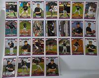 2006 Topps Series 1 & 2 Toronto Blue Jays Team Set of 25 Baseball Cards