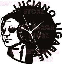 OROLOGIO DA PARETE ARTIGIANALE - DISCO VINILE -  ROCK MUSICA - LUCIANO LIGABUE