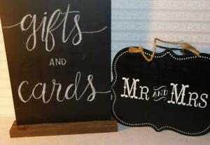 Gifts and Cards Wedding Sign * Mr. & Mrs. Wedding Sign Black White Wall Decor