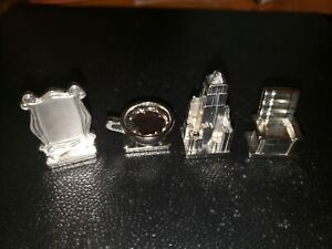 Set of 4 Scene It FRIENDS Edition Tokens Replacement Game Parts Pieces Mover