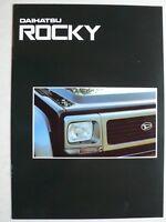 Prospekt Daihatsu Rocky, 4.1995, 16 Seiten