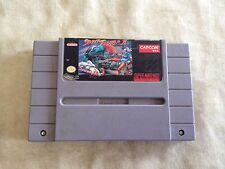 Super Street Fighter 2 (Nintendo SNES, 1994) Game Video Game
