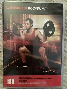Les Mills BODYPUMP 88 DVD, CD, & NOTES!