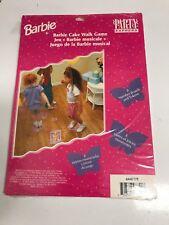 Barbie Cake Walk Game Birthday Party Express Supplies Vintage 1997 Hallmark