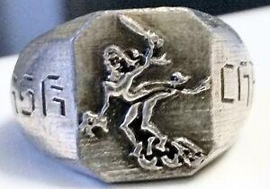 """MK-art Militaria Ring der 7. Panzer-Division Wehrmacht """"Gespensterdivision"""""""