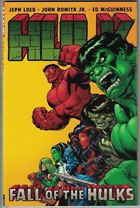 HULK Vol 5 Fall of the Hulks $14.99 srp Jeph Loeb Ed McGuinniss 2010 NEW NM