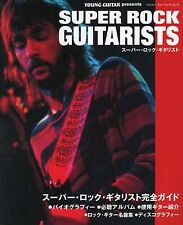 Young Guitar Super Rock Guitarists 2002 Magazine Japan Judas Priest Kiss Clapton