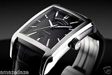 Maurice Lacroix Mens  Pontos Rectangulaire Day-Date Swiss Made Automatic Watch