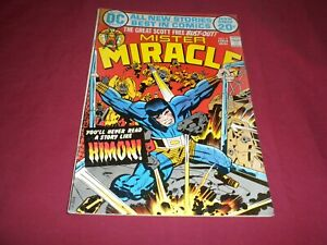 Mister Miracle #9 dc 1972 bronze age 5.5/fn- comic!