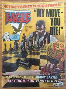 Eagle 30/10/82 Dan Dare, Doomlord, Invisible Boy, House Of Daemon, IPC UK comic