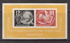 Germany #B21a Very Fine Never Hinged Souvenir Sheet