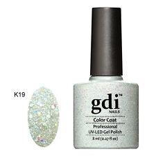 Diamond Glitter Nail GEL Polish by GDI Nails London UV LED Soak 8ml Post K19 - Crown Jewels