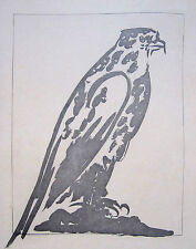 """PABLO PICASSO Original 1941-42 Aquatint and Etching - """"L'Epervier"""""""
