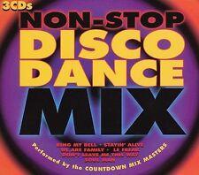 Non Stop Disco Dance Mix [1997] [Digipak] by Countdown Mix Masters (CD)