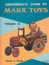 """GSPKW """"GREENBERG,S GUIDE TO MARX TOYS VOL. 2"""" SEHR, SEHR SELTEN ! VERY GOOD !"""