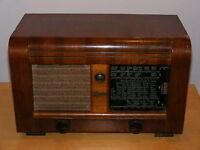 GRAETZ Antike Röhrenradio Radio sehr Alt