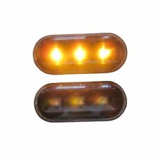 2 REPETITEUR LED VW POLO VARIANT SHARAN 1 T5 TRANSPORTER MULTIVAN NOIR P5