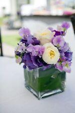 20pc Bulk 3' Votive Square Vases Wedding Glass Table Centerpiece Candle Holders