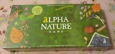 New & Sealed Alpha Nature Board Game By The Green Board Game Company 1992