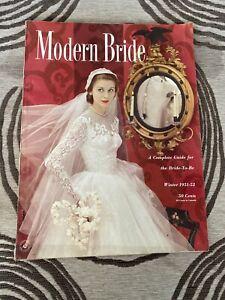 Modern Bride Magazine - Winter 1951 / 1952 Issue - Vintage