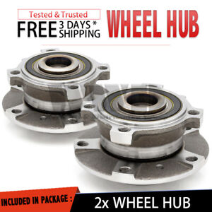 2x Front Wheel Hub Bearing Assembly For 2000-2003 BMW E39 5-SERIES 525I 4DR Pair