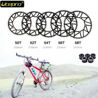 Litepro 130bcd 50T 52T 54T 56T 58T Hollow Chainring Bike Narrow Wide Chain Ring