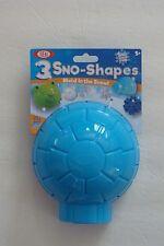 NEW ~ Ideal Sno Makers 3 Sno-Shapes Igloo Snowflake Polar Bear Head Mold in Snow