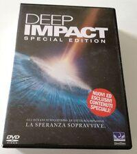 DEEP IMPACT (SPECIAL EDITION) FILM DVD ITALIANO OTTIMO SPED GRATIS SU+ACQUISTI
