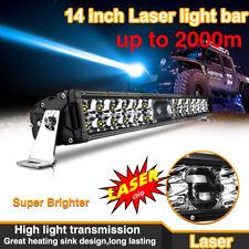 Newest 14 Inch LASER LED Light Bar Osram Chips Super Bright 2000M for Pickup UTV