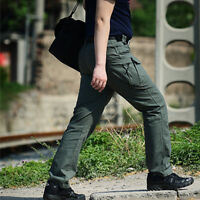 Casual Mens Combat Cargo Army Work Pants Military Camouflage Tactical Trousers