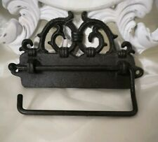 Toilet Roll Holder Toilet Roll Holder Metal Braun Vintage Landhaus Shabby