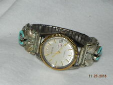 marked Sterling S Ray Pre-Owned Mens Geneva Automatic Watch