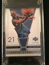 2003 NBA Upper Deck UD Glass Kevin Garnett Jersey Card Timberwolves