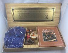 Anri 50th Anniversary Jubilee Treasure Chest w/Figurine/Book & Apron/Complete