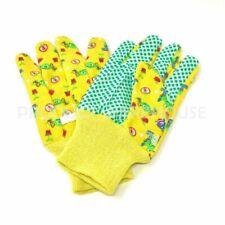 Garden Patch Kids Garden Gloves - Yellow